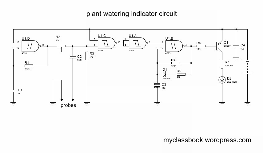 Automatic Plant Watering System Mini Project Myclassbook