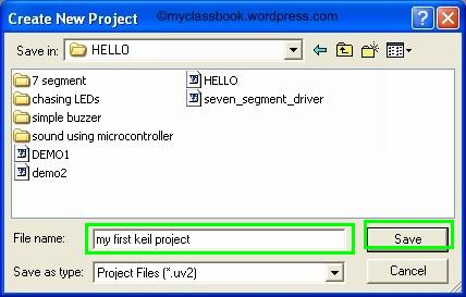 Keil tutorial for programming a microcontroller 2
