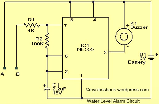 Water Level Indicator Circuit: Electromics Mini Project – MyClassBook