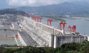 ThreeGorgesDam hydroelectric power plant