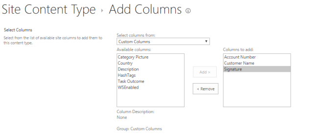 SharePoint Content Types