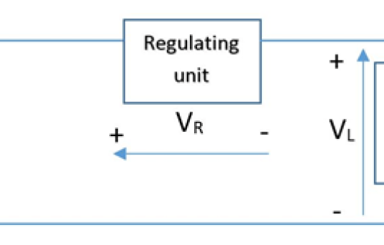 Series voltage regulator circuit diagram