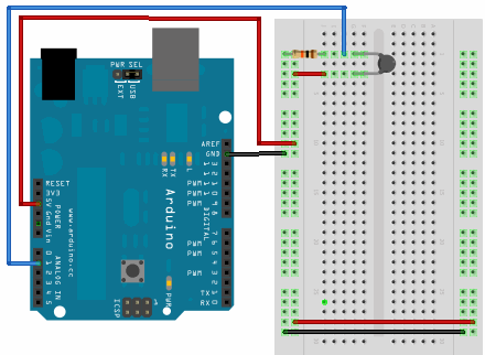 Interfacing thermistor with Arduino