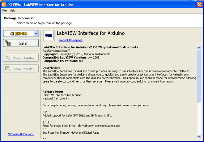 LabVIEW Interface for Arduino 002
